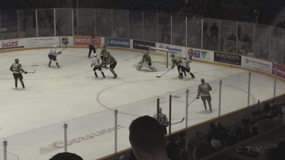 North Bay Battalion vs Owen Sound Attack