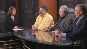 Aaron Rand, Terry DiMonte and Bill Brownstein grip