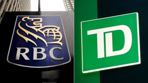 RBC and TD Bank logos