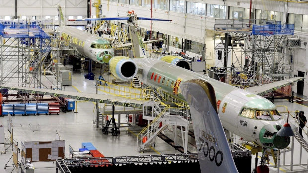 Bombardier Global 7000 aircraft