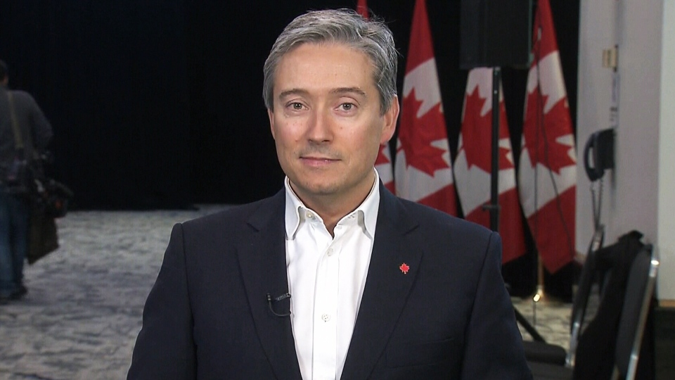 International Trade Minister François-Philippe Champagne on CTV's Question Period.
