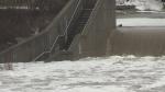 Bridges, roads, park affected by flooding