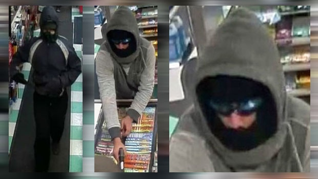 Convenience store robbery suspects - Madigan Drive