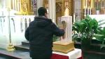 St. Francis Xavier relic in Toronto
