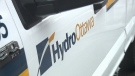 A Hydro Ottawa vehicle is seen in this undated photo. (CTV Ottawa)
