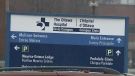 File photo: Ottawa Hospital Civic Campus sign. (CTV Ottawa)