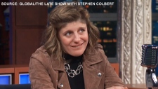 Carly Fleischmann appears on The Late Show with Stephen Colbert (Global)