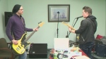 Local band writing songs for cancer research