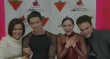 Scott Moir and Tessa Virtue win nationals