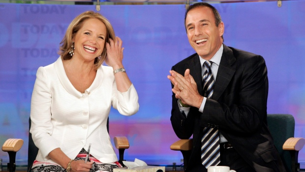 Katie Couric Opens Up About Matt Lauer's Firing From 'Today' Show