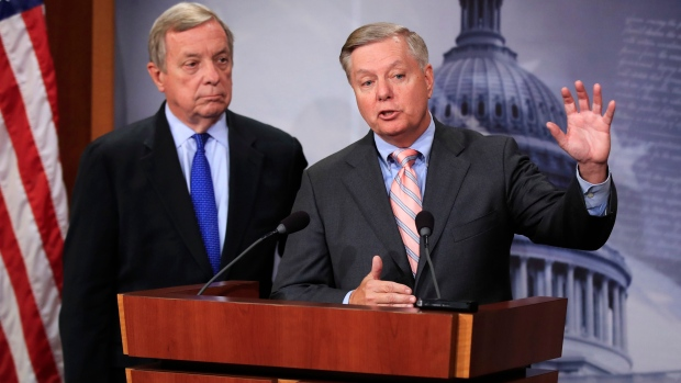 Sen. Lindsey Graham and Sen. Dick Durbin, D-Ill