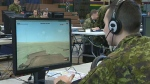Troops go high-tech for training exercise