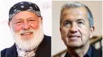 This combination of 2008 and 2017 photos shows photographers Bruce Weber, left, and Mario Testino. (Matt Sayles, Michael Sohn/AP Photo)