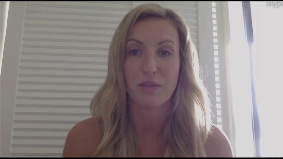 Nadia van Der Heyden speaks to CTV News via Skype.