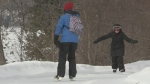 Skating trail opens