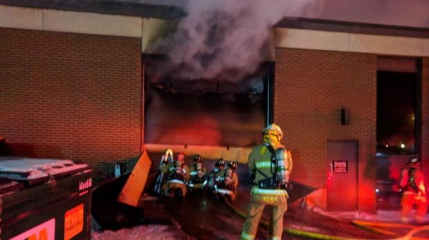 Fire on Michael Street - Ottawa