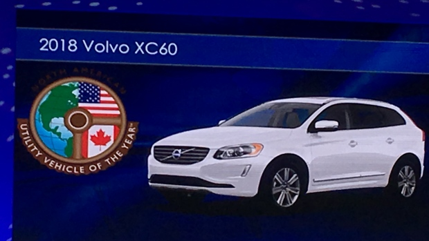Honda, Volvo, Ford scoop awards at Detroit auto show