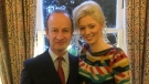 UKIP Leader Henry Bolton and Jo Marney are seen in this image posted on Twitter on Dec. 16, 2017. (@Jo_Marney/Twitter)