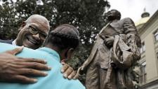 Martin Luther King Jr. statue in Atlanta
