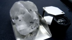 A 910 carat diamond discovered at the Letseng mine in Lesotho. (GEM DIAMONDS / AFP / HO)
