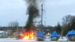 Fire knocked out power on Manitoulin Island