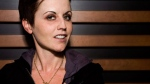 Musician Dolores O'Riordan, formerly of The Cranberries, poses for a photo in Toronto on Friday, August 28, 2009. THE CANADIAN PRESS/Darren Calabrese