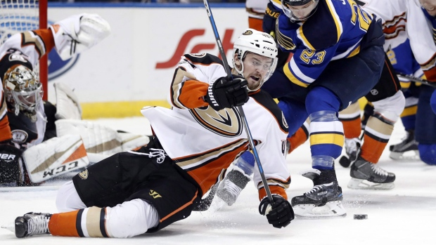 Montreal Canadiens claim forward Logan Shaw on waivers from Anaheim