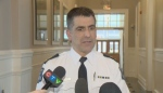 Halifax Regional Police Supt. Jim Perrin speaks to reporters on Jan. 15, 2018.
