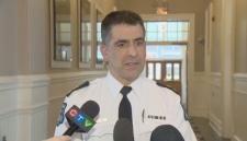 Halifax Regional Police Supt. Jim Perrin speaks to reporters on Jan. 15, 2018.