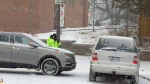 A child was critically hurt after becoming pinned between two vehicles in a Downsview school pick-up zone on Jan. 15, 2018.