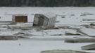 CTV Atlantic: N.B. fishermen huts submerged, encas