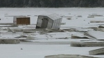 CTV Atlantic: N.B. fishermen huts submerged, encas
