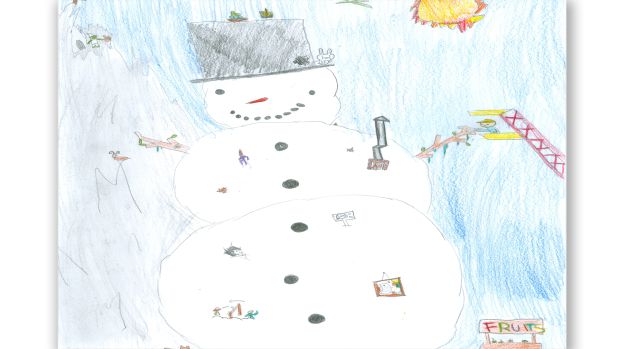 Mattias Johnston, Grade 4, Wakefield Elementary School