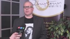 Downtown Timmins BIA President Jamie Roach