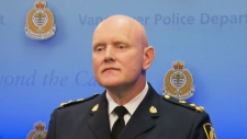 Chief Const. Adam Palmer says the teen was in a pa
