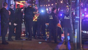 Police say a 15-year-old boy is on life support and not expected to survive following a brazen exchange of gunfire on a busy Vancouver street.