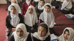 Girls attend a Grade 2 class at a school in Kabul, Afghanistan. (Peter Bregg)