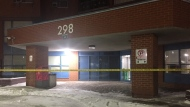 A stabbing in North York sent one man to hospital with serious injuries. (Mike Nguyen/ CP24)