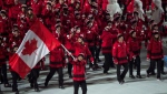 Hayley Wickenheiser leads the Canadian team in Sochi. (Source: Paul Chiasson/ The Canadian Press)