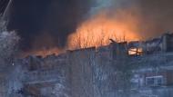 Fire in St. Hubert