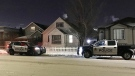 EPS on scene, at a home on 80 St. near 117 Ave. late Monday, January 15, 2018.
