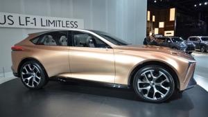 Lexus LF-1 Limitless concept (Newspress/Lexus)