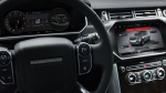 An onboard system developed by BlackBerry for Land Rover. (BlackBerry QNX / Land Rover)