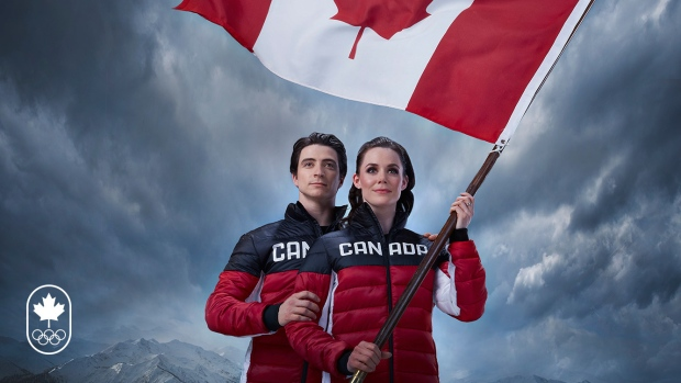 Virtue, Moir To Carry Flag at Olympics