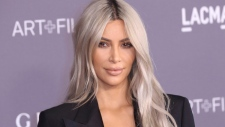 In this Nov. 4, 2017 file photo, Kim Kardashian West arrives at the LACMA Art + Film Gala at the Los Angeles County Museum of Art in Los Angeles. (Photo by Willy Sanjuan/Invision/AP)