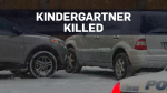 Toronto kindergarten student pinned between SUVs