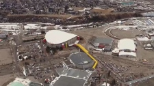 Members of the IOC will tour Calgary's legacy winter sport facilities while they are in the city.