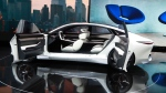 Infiniti's Q Inspiration concept appears on display at the North American International Auto Show, Tuesday, Jan. 16, 2018, in Detroit. (AP Photo/Carlos Osorio)