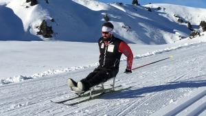 Para-Nordic skiing athlete, Collin Cameron