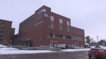 St Thomas Elgin General Hospital exterior winter